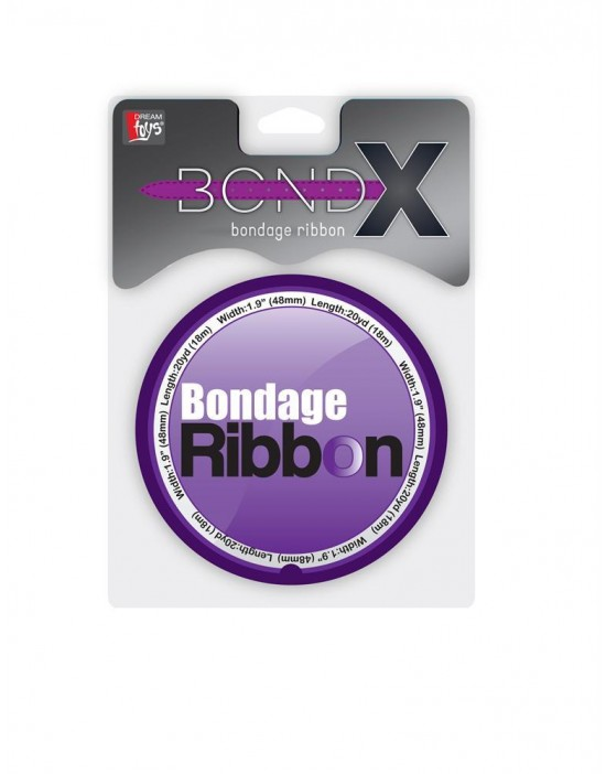 BONDX BONDAGE RIBBON PURPLE