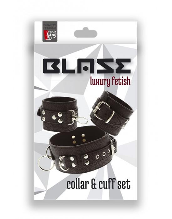 BLAZE COLLAR & CUFF SET