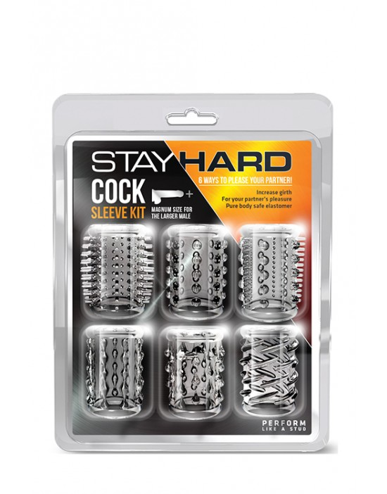 STAY HARD COCK SLEEVE KIT...