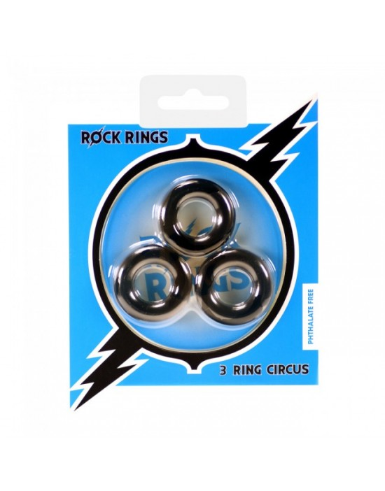 Rock Rings The 3 Ring Circus