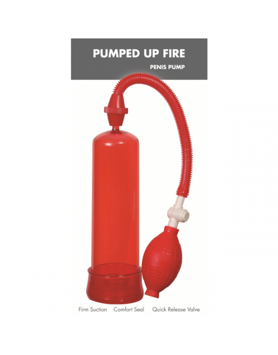 Pumped Up Fire Penis Pump Linx