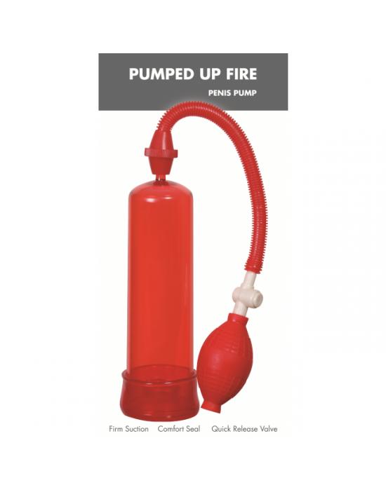 Pumped Up Fire Penis Pump Linx