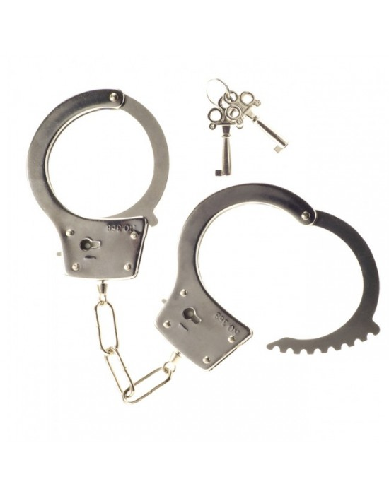 Metal Handcuffs with 2...